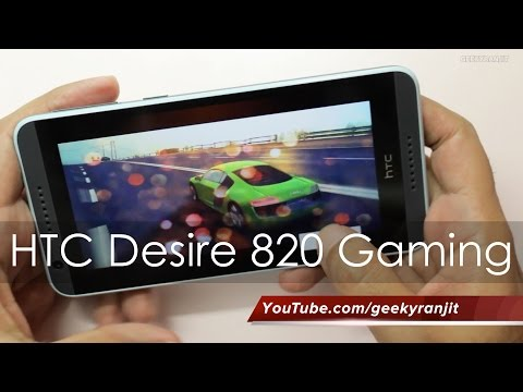 HTC Desire 820 Gaming Review & Does it Heat Up?