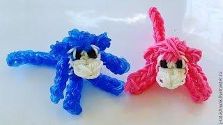 Понравившиеся фигурки животных из резинок - идеи плетения 3d