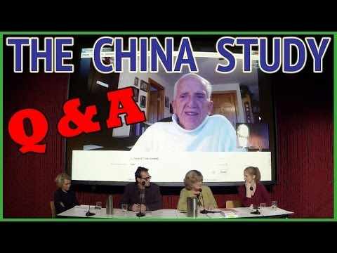 The China Study - Q&A with Dr. T. Colin Campbell - Nov. 26, 2013 - ENGLISH