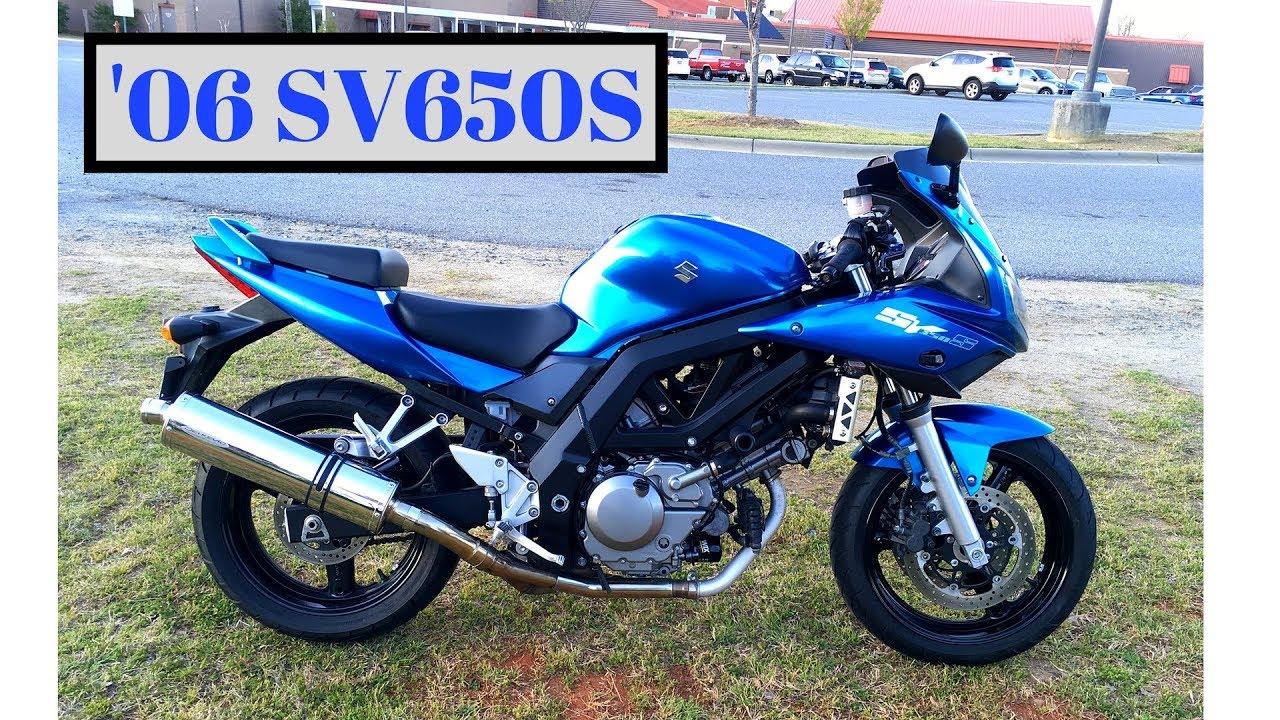 2006 Suzuki SV650 Review - Top Speed