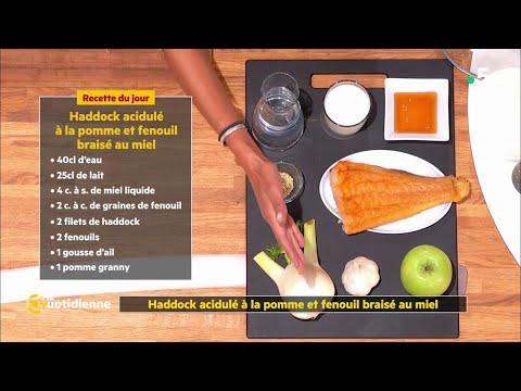 coup-d'food-:-haddock-fumé-acidulé-à-la-pomme-et-fenouil-braisé-au-miel-!