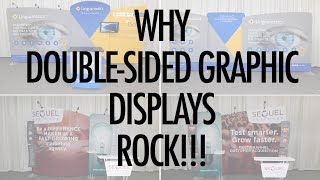 Why Double Sided Graphic Displays Rock!