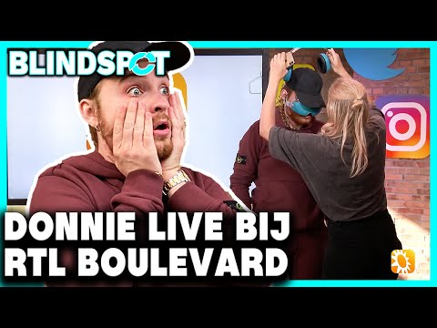REDT RAPPER DONNIE ZICH IN LIVESHOW bij  RTL BOULEVARD!? | Blindspot - CONCENTRATE