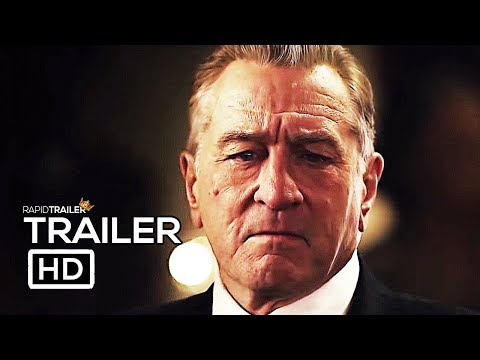 THE IRISHMAN Official Trailer #2 (2019) Robert De Niro, Al Pacino Movie HD