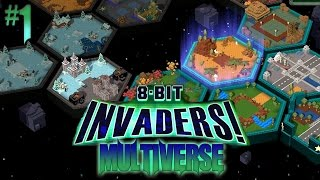 8-Bit Invaders Multiverse #1
