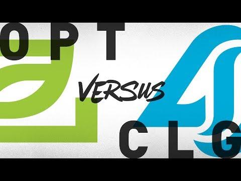 OpTic Gaming vs Counter Logic Gaming  vod