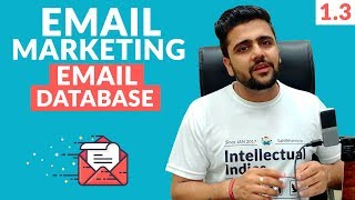 Email Marketing Introduction   Building List   Buying Email Database Is Good?   Digital Marketing
