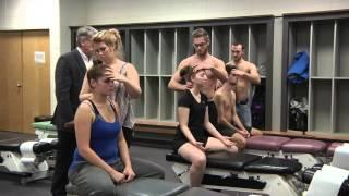 L'apprentissage des techniques chiropratiques à l'UQTR