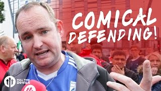 Andy Tate: Comical Defending!   Manchester United 1-1 Stoke City   FANCAM