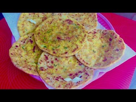 Download Stuffed Mix Vegetable Paratha | Bread Video Recipe | Bhavna's Kichen