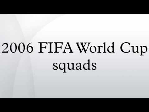 2006 FIFA World Cup Squads