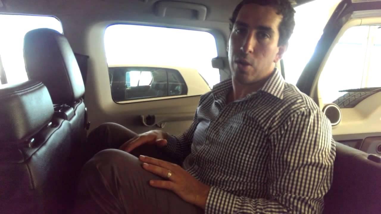 2012 Mitsubishi Pajero Exceed Rear Seats - YouTube