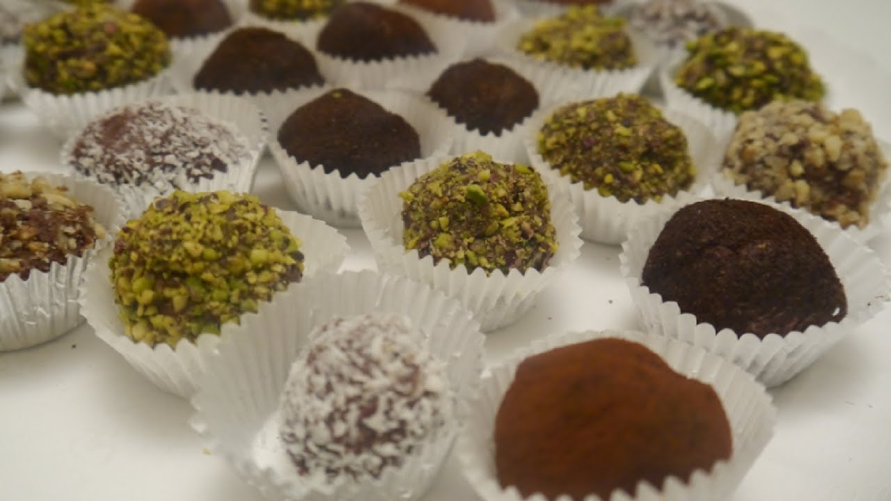 tartufi al cioccolato - YouTube