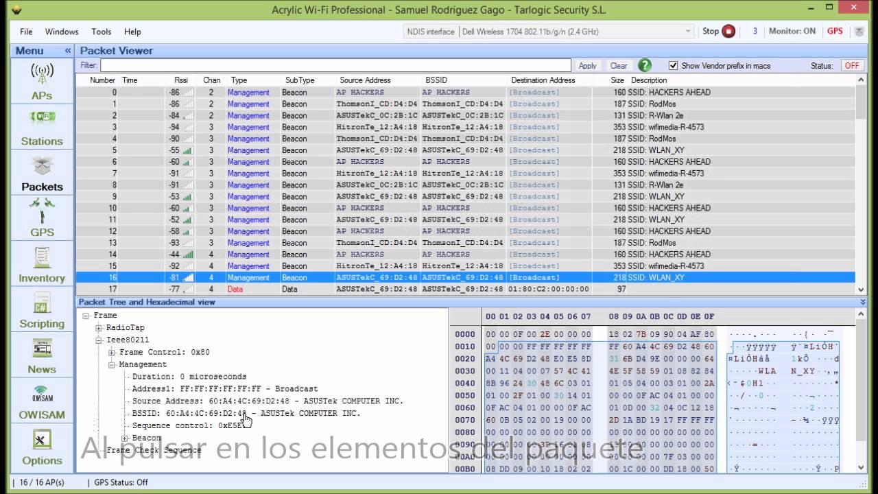 C 243 Mo Monitorear Wifi Con Analizador De Trafico De Red