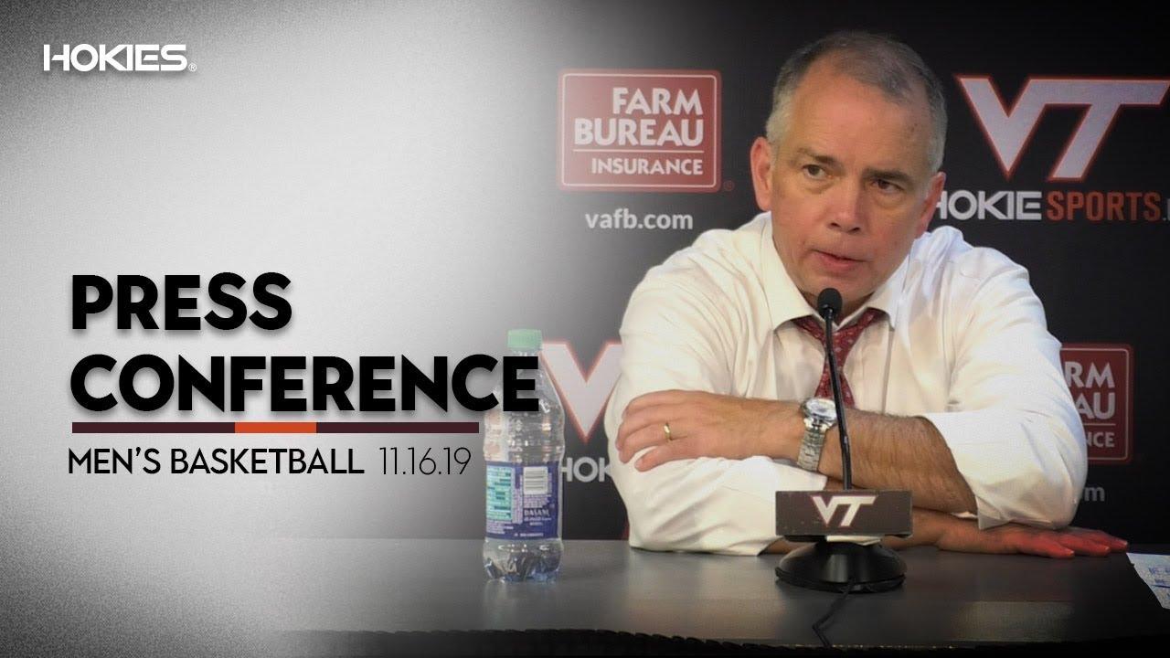 Mens Basketball vs. Lehigh Press Conference - YouTube