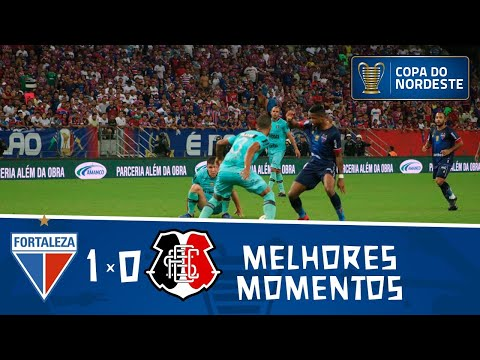 Fortaleza 1 x 0 Santa Cruz | Gol e melhores momentos | Semifinal da Copa do Nordeste 2019
