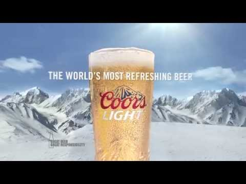 Coors Light Never Stops Commercial