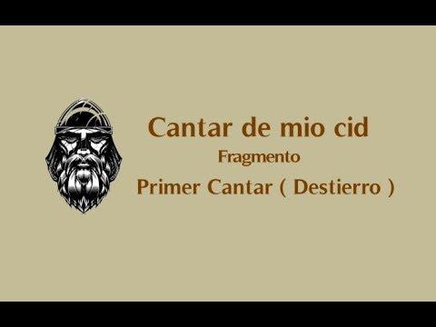 orazio ( Cantar de mio cid - Fragmento - Destierro )
