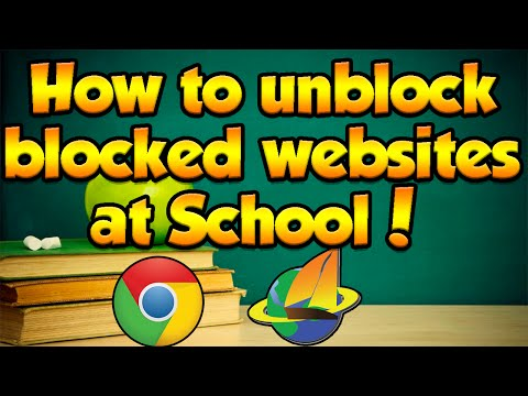 How to Unblock Blocked websites at School! 2016! *THIS WORKS ANYWHERE WITH INTERNET*