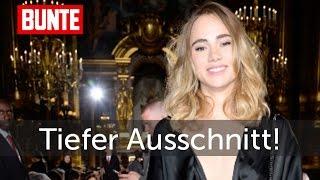 Suki Waterhouse - Tiefer ging der Ausschnitt wohl nicht mehr! - BUNTE TV