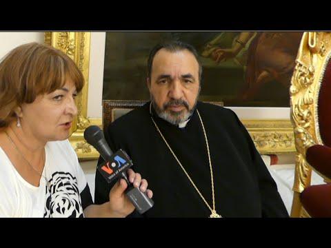 Interview with  Archbishop Nourhan Manougian, The Armenian Patriarch of Jerusalem.