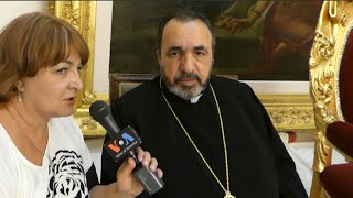 Interview with  Archbishop Nourhan Manougian, The Armenian Patriarch of Jerusalem