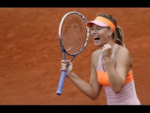 Sharapova VS Muguruza Highlight 2014