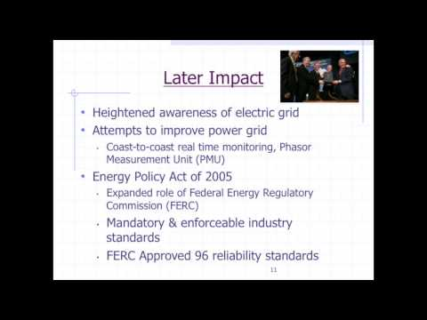 Northeast Blackout of 2003: An Analysis