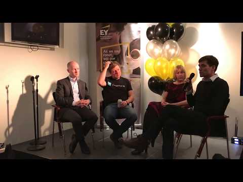 EY at #Slush17: Raising Growth Capital – a panel discussion with entrepreneurs
