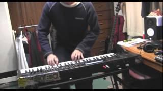 キーボード(シンセサイザー)パートを演奏しました.