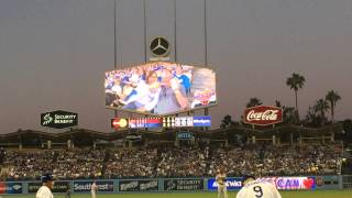 First Gay Kiss on Kiss Cam at Dodgers Stadium! @28 seconds