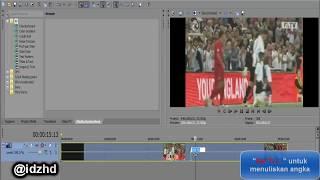 Cara Membuat Video Berjalan Mundur di Sony Vegas Pro