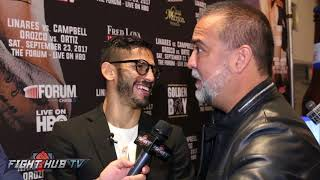 JORGE LINARES LOOKS TO ERASE GHOST OF DEMARCO LOST IN RETURN TO LOS ANGELES!