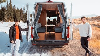 Download Traveling Cross Country Living In Our Tiny Home Van Mp3 and Videos