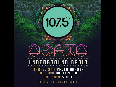 Paulo Arruda At Ocaso Underground Radio - Radio 107.5 FM ( Costa Rica )
