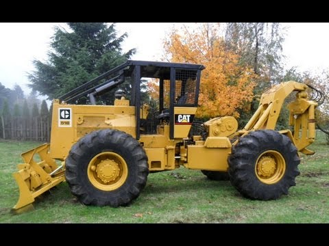 Cat 518 Log Skidder sn# 95U1659