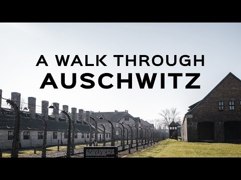 A Walk Through Auschwitz | Uncensored Footage of the Concentration Camps