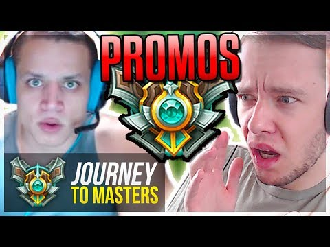 MASTER PROMOS (AGAIN) ft. TYLER1 - Journey To Masters | League of Legends
