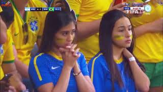 Best football match ever  !Brazil vs argentina