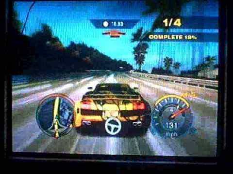 need for speed undercover wii gameplay race sprint 2. Black Bedroom Furniture Sets. Home Design Ideas