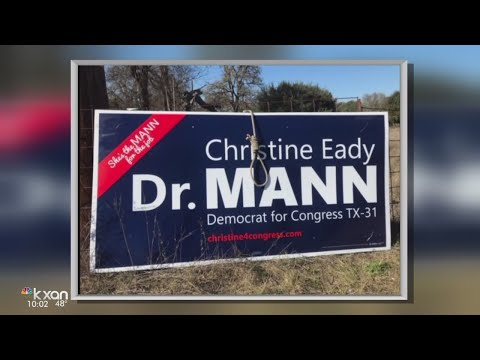 Deputies investigating after noose found on Congressional campaign sign