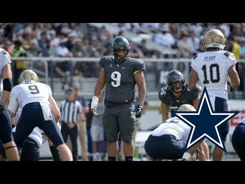 Trysten Hill Film Session || Dallas Cowboys 2nd Round DT