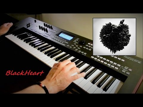 Two Steps From Hell - Blackheart (SkyWorld) - Live on Yamaha moXF6 by Piotr Zylbert - Poland (HD)