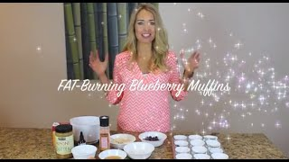 Fat Burning Blueberry Muffins