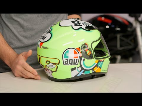 AGV K3 SV Misano 2011 Helmet Review at RevZilla.com - YouTube 137e906026926