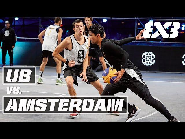 Ub v Amsterdam | Final Full Game | FIBA 3x3 Unites Utrecht Challenger 2021