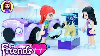 Lego Friends Emma's Mobile Vet Clinic Build - Kids Toys