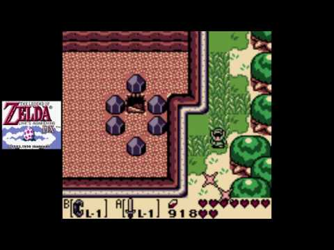 Zelda: Link's Awakening DX [GBC] (Commentary) #09, Martha's Bay: Ghost Whispering; Deep Treasures
