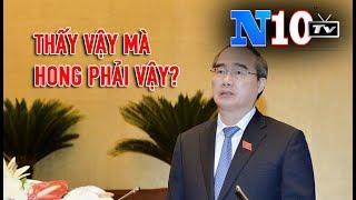 Bí thư TP HCM : Nguyễn Thiên Nhân Và 3 Bài Học Cho Cán Bộ , Thấy Vậy Mà Hong Phải Vậy?