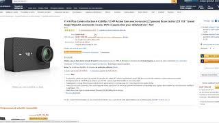 YI 4K Plus Caméra d'action 4K 60fps 12 MP